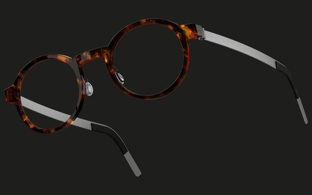 Lindberg acetanium - Brillengestell Havanna Acetat & Titan - Nah+Fern Optik Köln