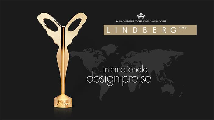 Lindberg Brillen - Design Awards / Preise