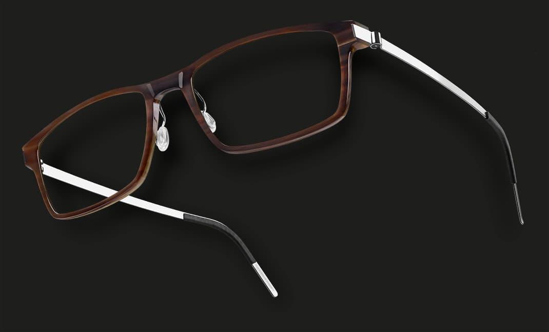 Lindberg buffalo titianium - Brillengestell aus Büffelhorn - Nah+Fern Optik Köln