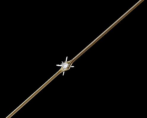 Lindberg Precious - Bügel Gold mit Diamant - Nah+Fern Optik Köln