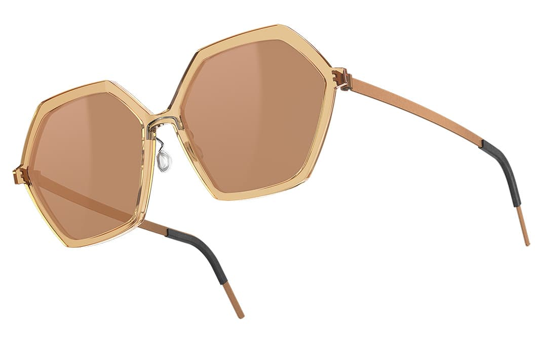 Lindberg Sonnenbrillen / Sun - Damen Sonnenbrille schwarz / titan - Nah+Fern Optik Köln